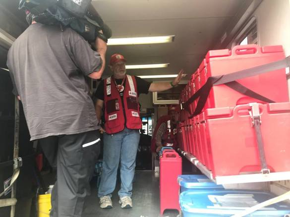MA volunteers responded to Hurricane Florence